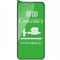Защитное стекло Ceramics Glass для iPhone XR/11 Black