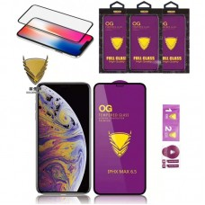 Защитное стекло OG Full Cover для iPhone XR/11 Black