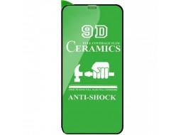 Защитное стекло Ceramics Glass для iPhone 12/12 Pro Black