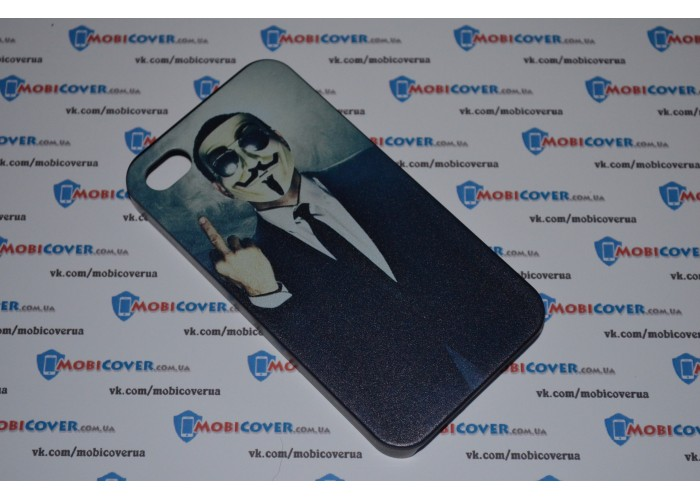 Чехол-бампер для iPhone 4/4S (Маска Фокса)