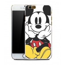 Чехол-бампер для iPhone 4/4S (Микки)