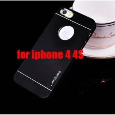 Чехол-бампер для iPhone 4/4S (Motomo) (Несколько цветов)