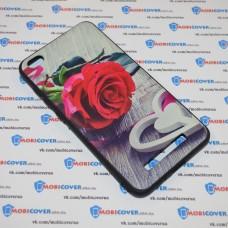 Чехол-бампер для XiaoMi Redmi 4A (Красная роза)