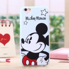 Чехол-бампер для iPhone 5/5S (Mickey Mause)