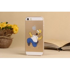 Чехол-бампер для iPhone 5C (Симпсон)