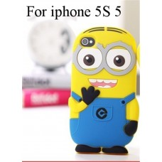 3D чехол-бампер для iPhone 5/5S (Миньон)