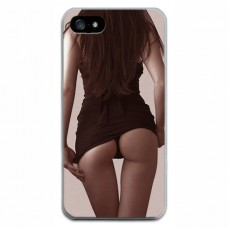 Чехол-бампер для iPhone 5/5S (Девушка)