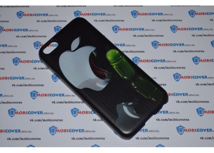 Чехол IOS ест Android для iPhone 5C