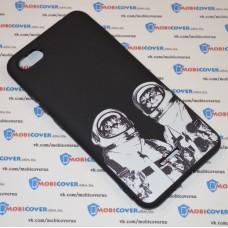 Чехол для XiaoMi Redmi 6A (Коты космонавты)