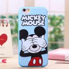 Чехол-бампер для iPhone 6 Plus (Микки Маус)