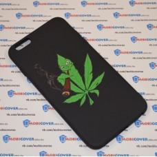Чехол-бампер для iPhone 6 Plus (Smoke Marijuana)
