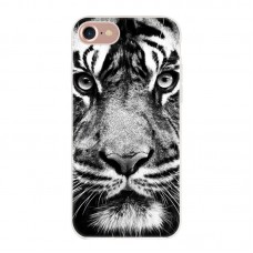 Чехол-бампер для iPhone 7/8 (Белый тигр)