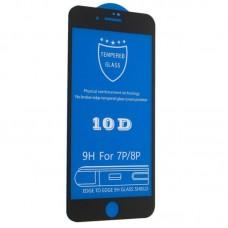 Защитное стекло 10D для iPhone 7 Plus/8 Plus Black