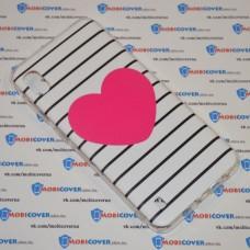 Чехол для Samsung Galaxy А10 / A105 (Большое сердце)