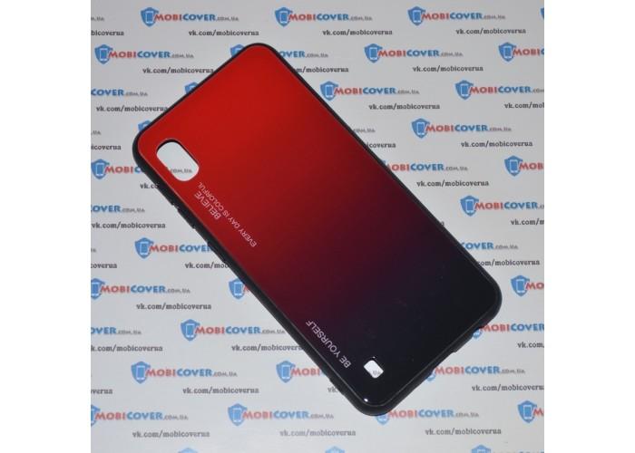 Стеклянный чехол (Красный) для Samsung Galaxy А10 / M10