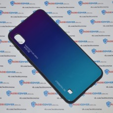 Стеклянный чехол (Фиолетовый) для Samsung Galaxy А10 / M10