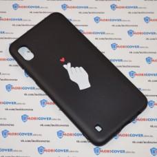 Чехол для Samsung Galaxy А10 / A105 (Щелчок любви)