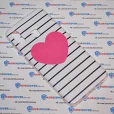 Чехол для Samsung Galaxy А20 / A30 (Большое сердце)