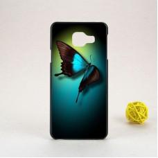 Чехол-бампер для Samsung Galaxy А3 / A310 (Бабочка) (2016)