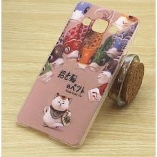 Чехол-бампер для Samsung Galaxy А5 (Кот) (2015)