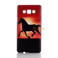 Чехол-бампер для Samsung Galaxy А5 (Лошадь) (2015)