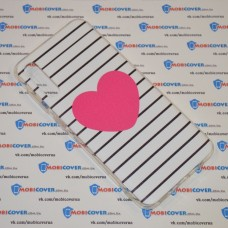 Чехол для Samsung Galaxy А50 / A505 (Большое сердце)