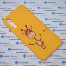 Чехол для Samsung Galaxy А50 / A505 (Hello)