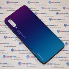 Стеклянный чехол для Samsung Galaxy А50 / A505 (Фиолетовый)
