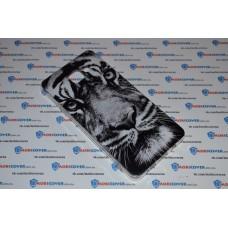 Чехол-бампер для Samsung Galaxy A7 / A710 (Белый тигр) (2016)