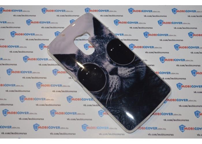 Чехол-бампер для Lenovo Vibe X3 lite (A7010) (Кот Базилио)