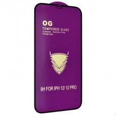 Защитное стекло OG Full Cover для iPhone 12/12 Pro Black