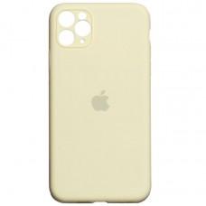 Чехол Apple Silicone Case Full Camera (Antique White) для iPhone 11 Pro Max
