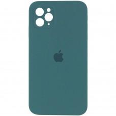 Чехол Apple Silicone Case Full Camera (Pine Green) для iPhone 11 Pro Max
