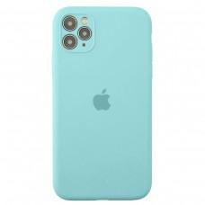 Чехол Apple Silicone Case Full Camera (Sea Blue) для iPhone 11 Pro Max