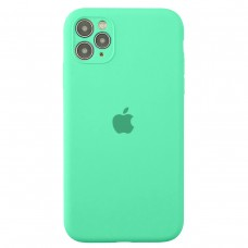 Чехол Apple Silicone Case Full Camera (Spearmint) для iPhone 11 Pro Max