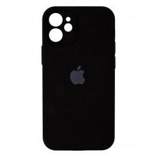 Чехол Apple Silicone Case Full Camera для iPhone 12 Mini (Black)