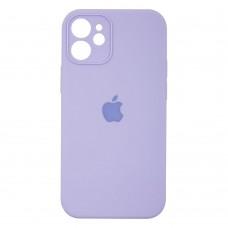 Чехол Apple Silicone Case Full Camera для iPhone 12 Mini (Lilac)