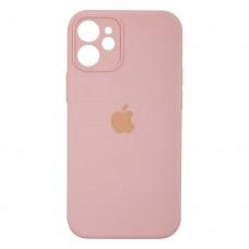 Чехол Apple Silicone Case Full Camera для iPhone 12 Mini (Pink Sand)