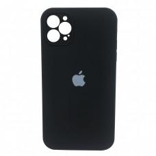 Чехол Apple Silicone Case Full Camera (Black) для iPhone 12 Pro Max