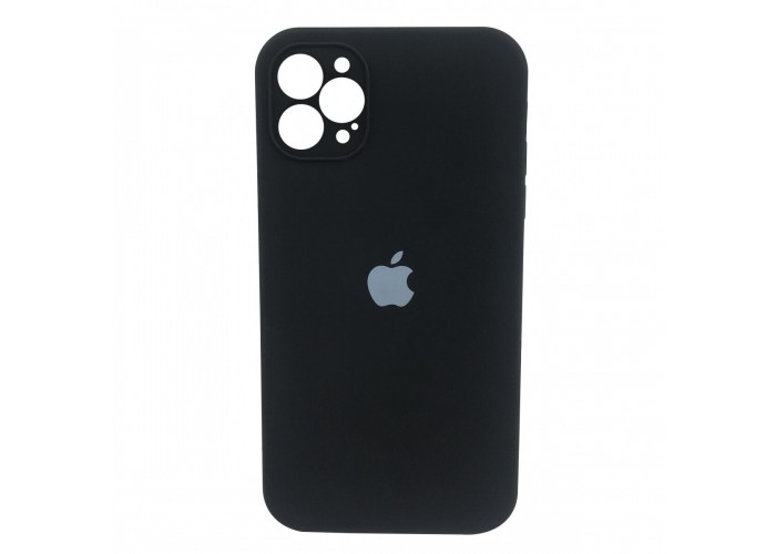 Чехол Apple Silicone Case Full Camera (Black) для iPhone 12 Pro Max