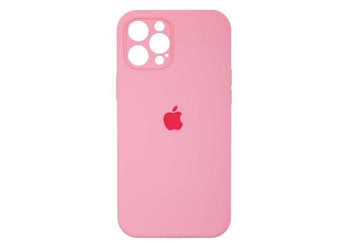 Чехол Apple Silicone Case Full Camera (Light Pink) для iPhone 12 Pro Max