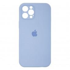 Чехол Apple Silicone Case Full Camera (Lilac Cream) для iPhone 12 Pro Max