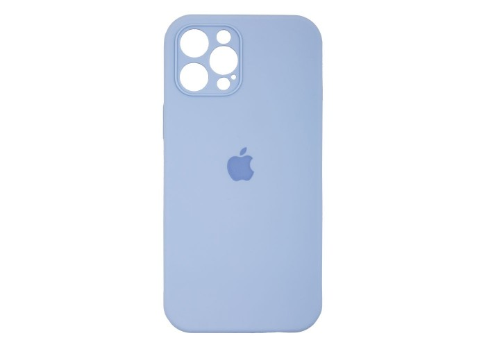 Чехол Apple Silicone Case Full Camera (Lilac Cream) для iPhone 12 Pro Max