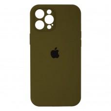 Чехол Apple Silicone Case Full Camera (Virid) для iPhone 12 Pro Max