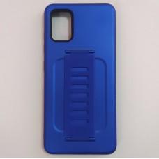 Ударопрочный чехол с силиконовым браслетом для Samsung Galaxy A51 (Синий)