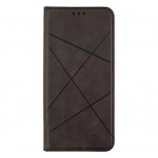 Чехол-книжка Business Leather для XiaoMi Poco X3 (Черный)