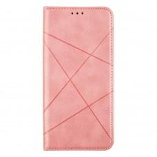 Чехол-книжка Business Leather для XiaoMi Poco X3 (Розовый)