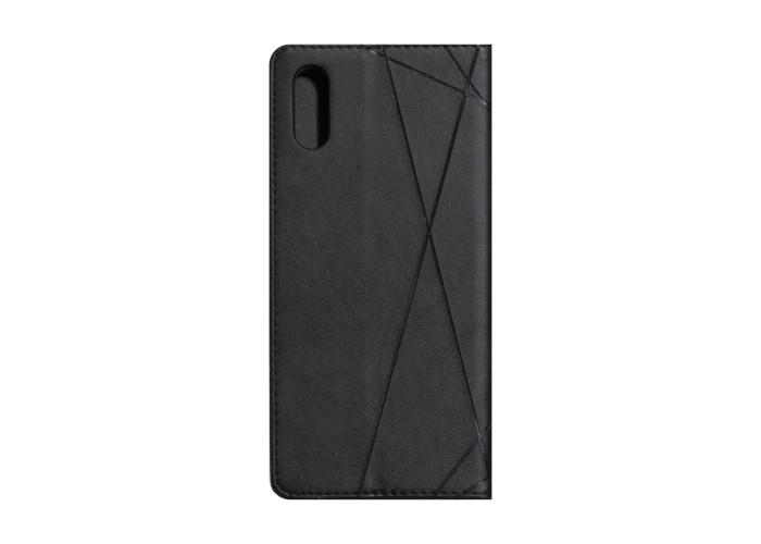 Чехол-книжка Business Leather для XiaoMi Redmi 9A (Розовый)