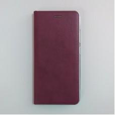 Чехол-книжка Elite Metal для Samsung Galaxy A51 / A515 (Бордовый)