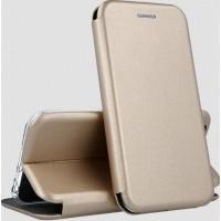 Чехол-книжка G-Case Classy для XiaoMi Redmi Note 9 (Золотой)